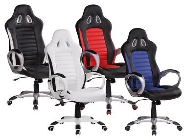 AMSTYLE Kancelářská židle Racer Sport s nosností 110 kg
