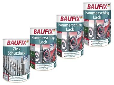 BAUFIX Kladívkový lak / Zinkový ochranný lak