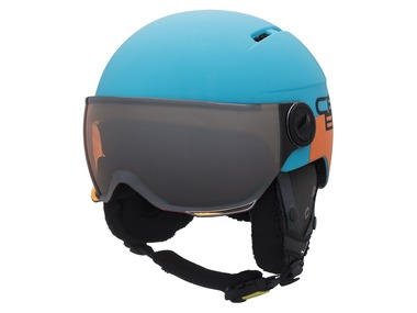 Cébé Dětská lyžařská helma Fireball Junior modrá/oranžová