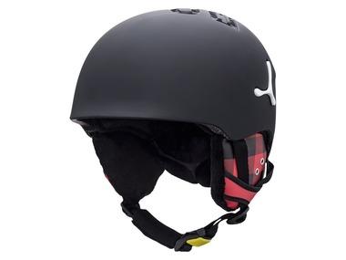 Cébé Dětská lyžařská helma SUSPENSE Junior DELUXE MATTE BLACK SQUARE 17/18