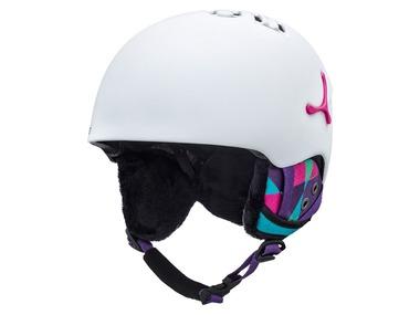 Cébé Lyžařská helma SUSPENSE DELUXE MATTE WHITTE GRAPHICS 17/18