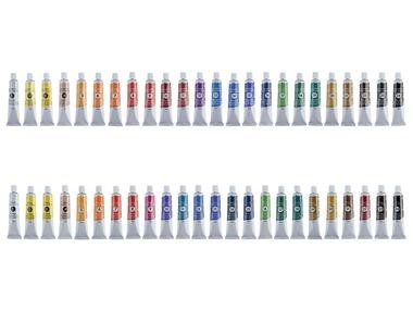 CRELANDO® Akvarelové / Olejové barvy