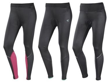 CRIVIT® Dámské cyklistické softshellové kalhoty
