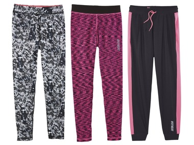 CRIVIT® Dívčí funkční kalhoty