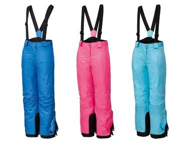 CRIVIT® Dívčí lyžařské kalhoty