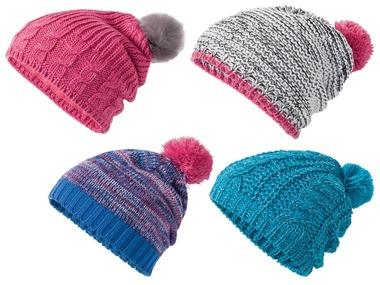 CRIVIT® Dívčí pletená čepice