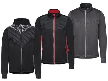 CRIVIT® Pánská běžecká softshellová bunda
