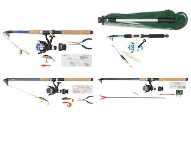 CRIVIT® Teleskopický rybářský prut