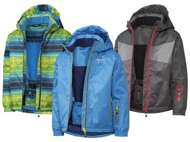 CRIVIT® Chlapecká lyžařská bunda