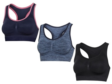 CRIVIT® Dámská sportovní podprsenka Shapewear seamless