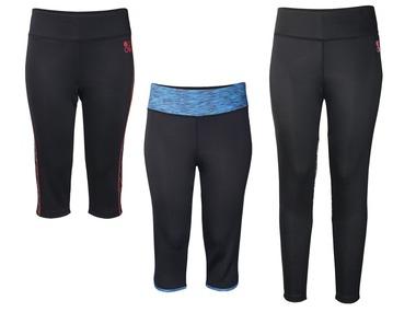 CRIVIT® Dámské funkční kalhoty / capri kalhoty XXL