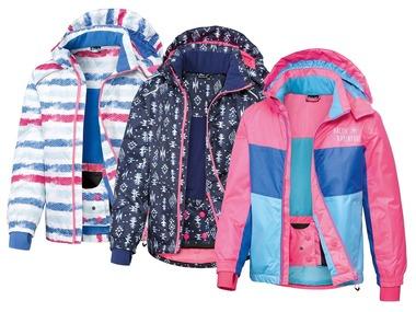 CRIVIT® Dívčí lyžařská bunda