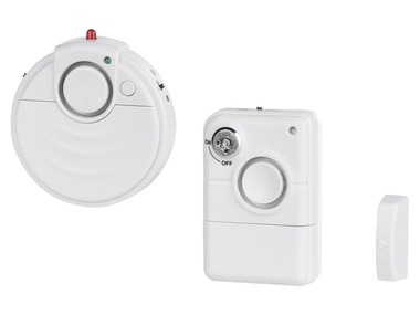 Detektor tříštění skla GBA 2 B2 / Dveřní a okenní alarm TAS 2 A1