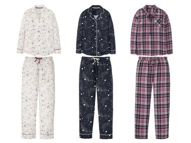 ESMARA®Lingerie Dámské flanelové pyžamo
