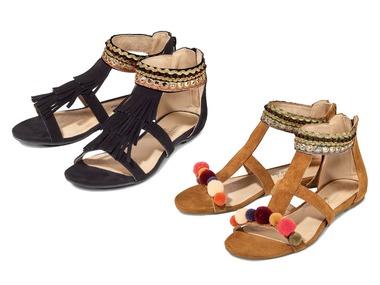 ESMARA® Dámské kožené sandály