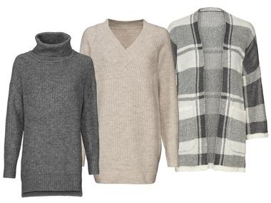ESMARA® Dámské pletené šaty / kardigan