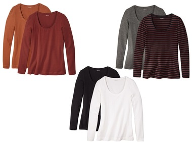 ESMARA® Dámské triko s dlouhými rukávy