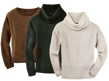 ESMARA® Dámský svetr z hrubého úpletu