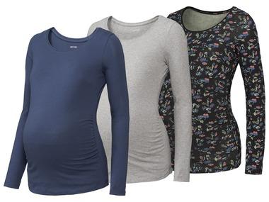 ESMARA® Těhotenské triko s dlouhými rukávy