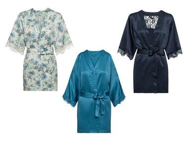 ESMARA®Lingerie Dámské saténové kimono