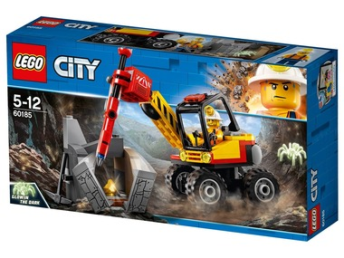 LEGO®City Mining 60185 Důlní drtič kamenů