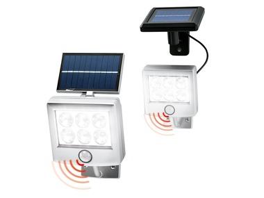 LIVARNOLUX® LED solární reflektor s detektorem pohybu