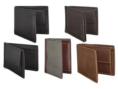 LIVERGY® Pánská kožená peněženka
