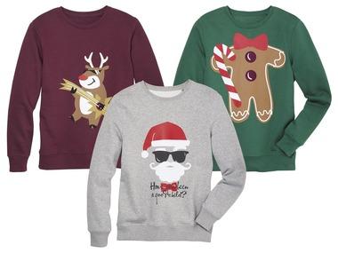 LIVERGY® Pánská vánoční mikina