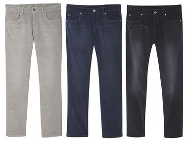 """LIVERGY® Pánské manšestrové kalhoty """"Straight Fit"""""""