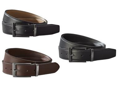 LIVERGY® Pánský kožený pásek