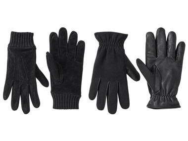 LIVERGY® Pánské kožené rukavice