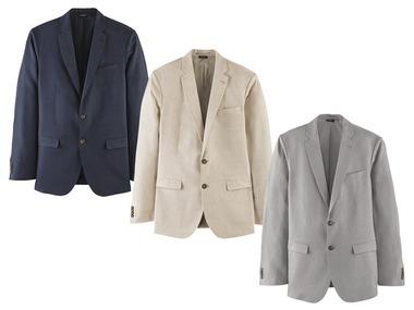 LIVERGY® Pánské lněné sako