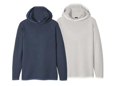 LIVERGY® Pánský svetr s kapucí