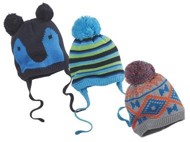 LUPILU® Chlapecká pletená čepice