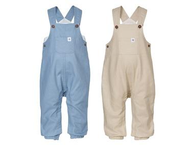 LUPILU® Chlapecké lněné kalhoty s laclem