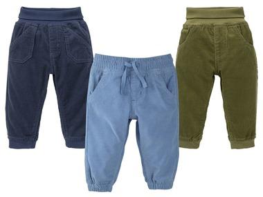 LUPILU® Chlapecké manšestrové kalhoty