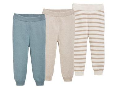LUPILU® Chlapecké pletené kalhoty
