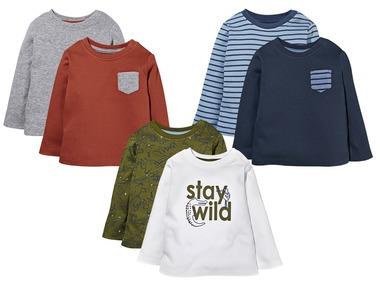 LUPILU® Chlapecké triko s dlouhými rukávy
