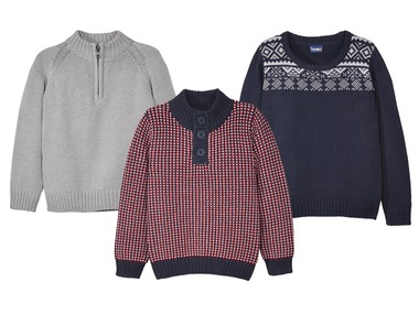 LUPILU® Chlapecký pletený svetr