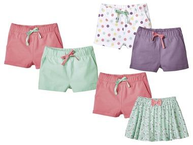 LUPILU® Dívčí šortky/sukně