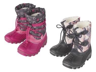 LUPILU® Dívčí blikající zimní obuv