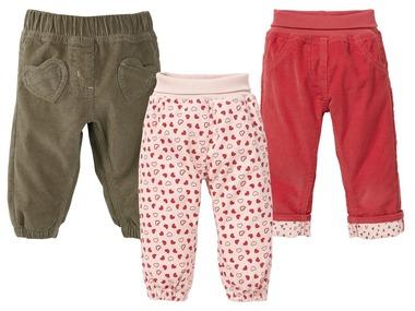 LUPILU® Dívčí manšestrové kalhoty