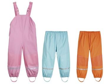 LUPILU® Dívčí nepromokavé kalhoty
