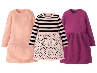LUPILU® Dívčí pletené šaty