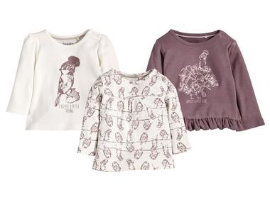 LUPILU® Dívčí triko s dlouhými rukávy