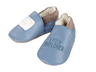 LUPILU® PURE COLLECTION Chlapecké kožené botičky pro batolata