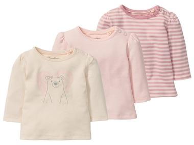 LUPILU® PURE COLLECTION Dívčí triko s dlouhými rukávy