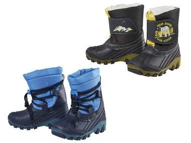 LUPILU® Chlapecké blikající zimní boty