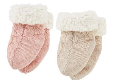 LUPILU® Dívčí domácí ponožky