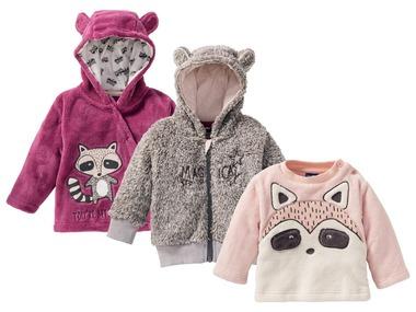 LUPILU® Dívčí fleecová mikina